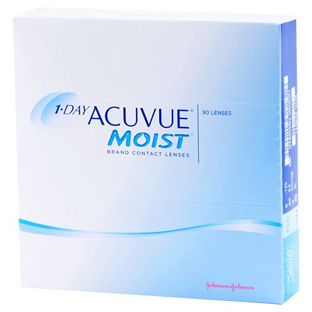 Acuvue 1-DAY ACUVUE MOIST 90pk contacts