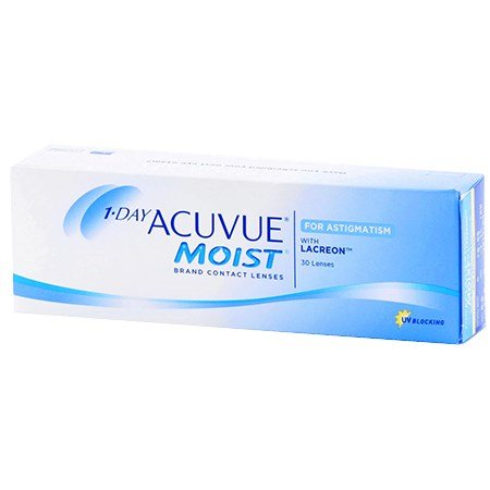 Acuvue 1-DAY ACUVUE MOIST for ASTIGMATISM 30 Pack contacts