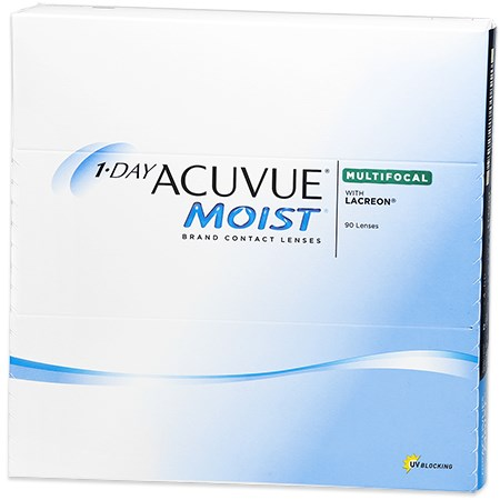 Acuvue 1-DAY ACUVUE MOIST Multifocal 90pk contacts
