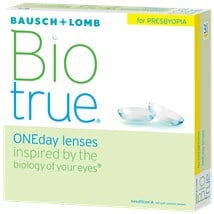 Biotrue ONEday for Presbyopia (90 pack) contact lenses