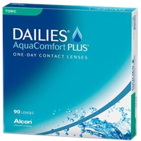 DAILIES AquaComfort Plus Toric 90 Pack contact lenses