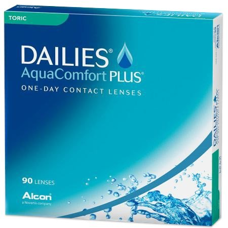 DAILIES AquaComfort Plus Toric 90pk contacts