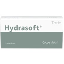Hydrasoft toric (3 pack) contact lenses