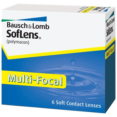 SofLens Multi-Focal contacts