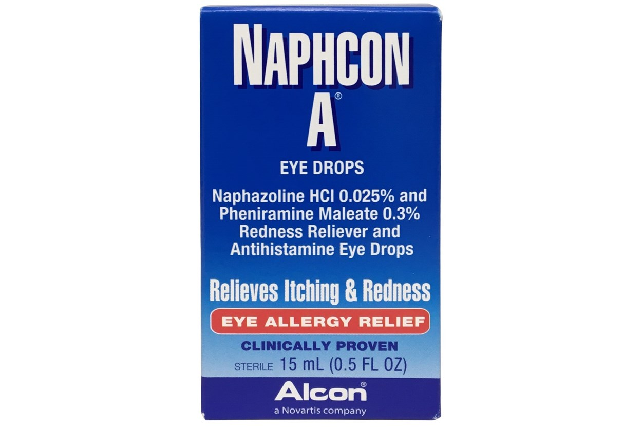 Alcon Naphcon A 0.5 FL OZ (15mL) DryRedEyeTreatments