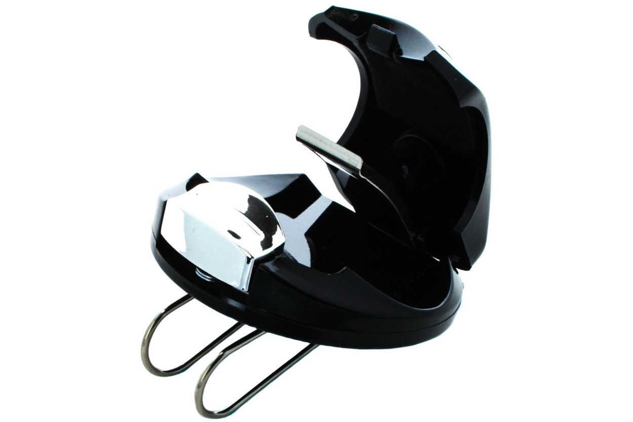 Alternate Image 1 - Amcon Glasses Visor Clip OtherEyecareProducts - Black