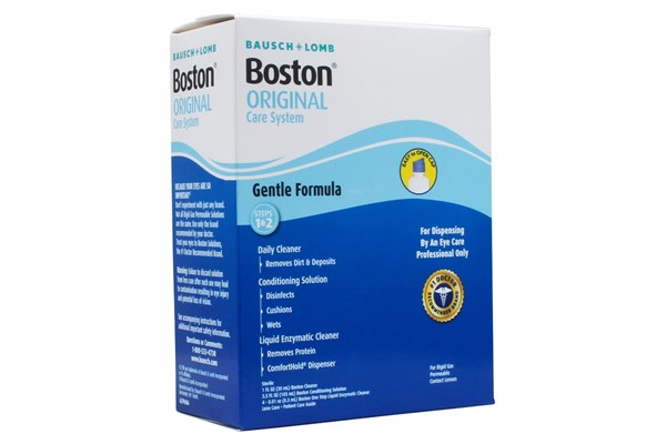 Boston Care System for Rigid Gas Permeable Hard Contact Lenses SolutionsCleaners