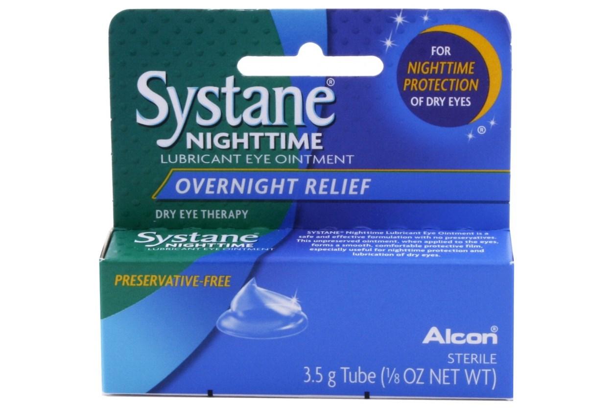 Systane Nighttime Lubricant Eye Ointment (.21 oz) DryRedEyeTreatments
