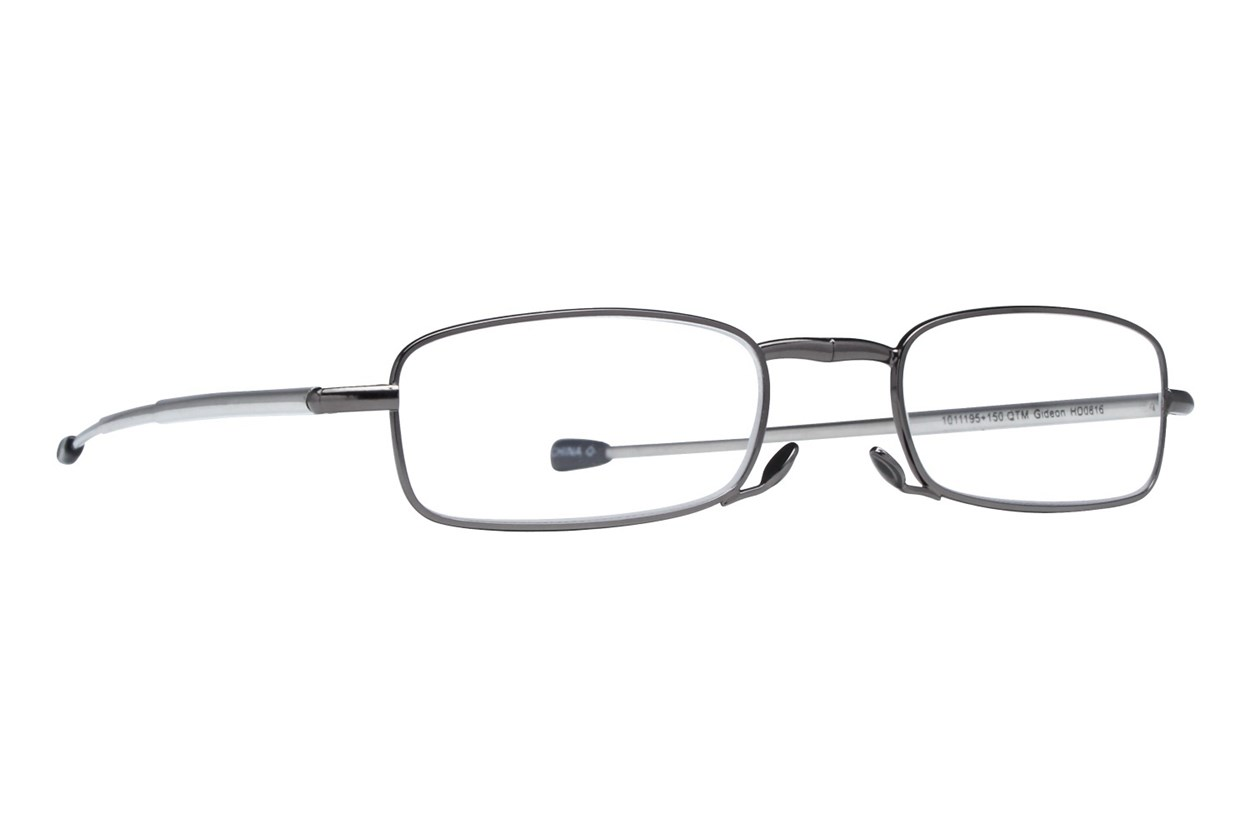 Magnivision Gideon Microvision Reading Glasses  - Black
