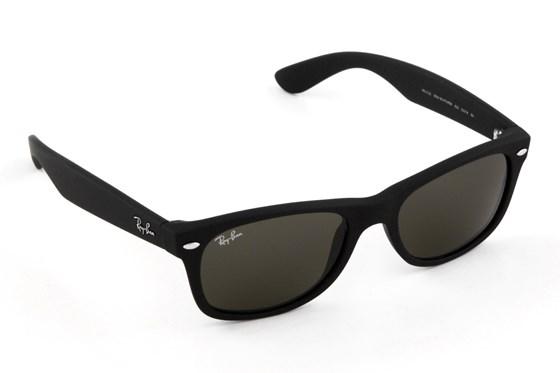 Ray-Ban® RB 2132 New Wayfarer 52 Sunglasses - Black