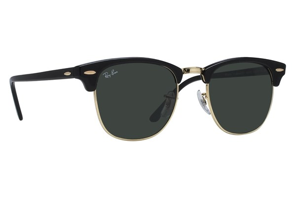 Ray-Ban® RB 3016 51 Clubmaster Sunglasses - Black