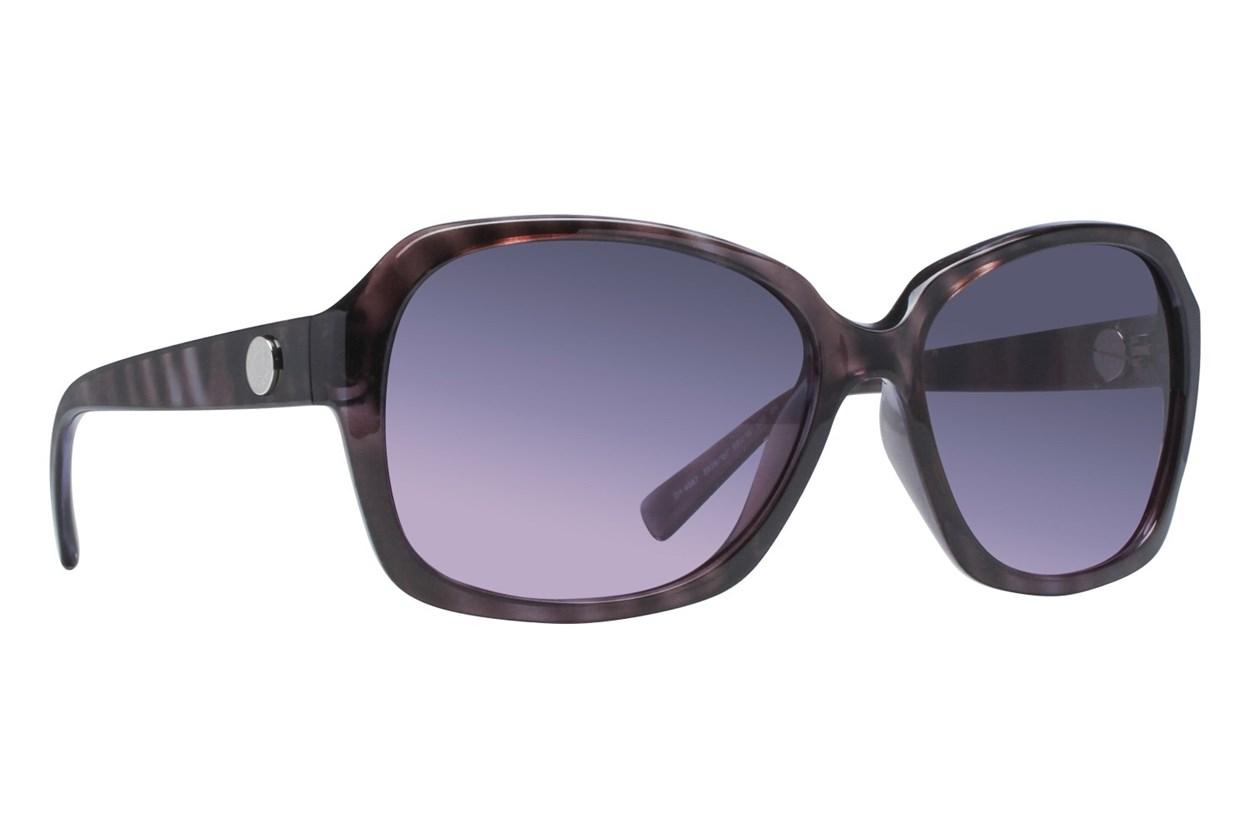 DKNY DY4087 Violet Tortoise Sunglasses - Purple