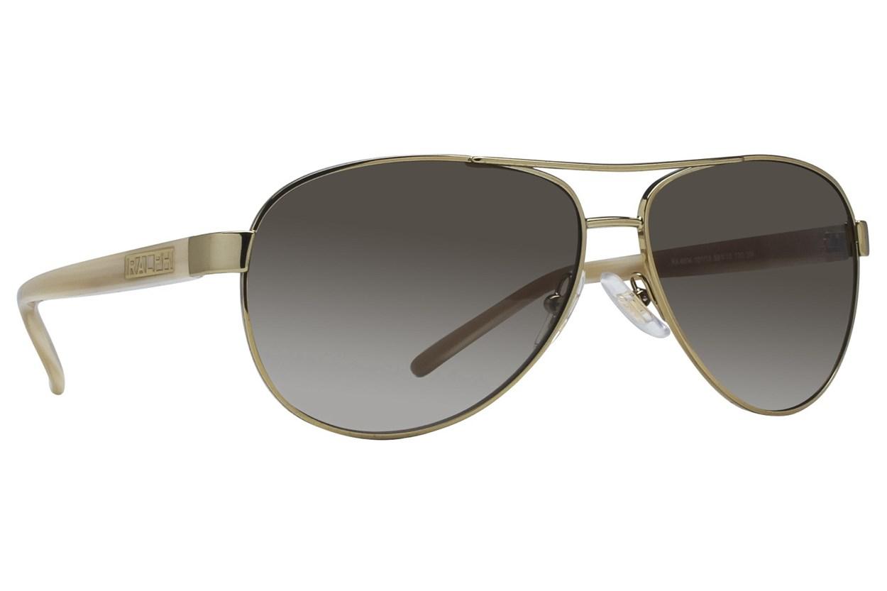 Ralph by Ralph Lauren RA4004 Light Gold Sunglasses - Gold