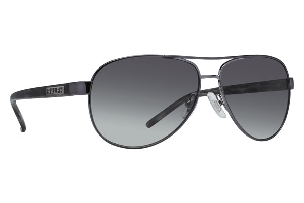 Ralph by Ralph Lauren RA4004 Gunmetal Grey Horn Sunglasses - Gray