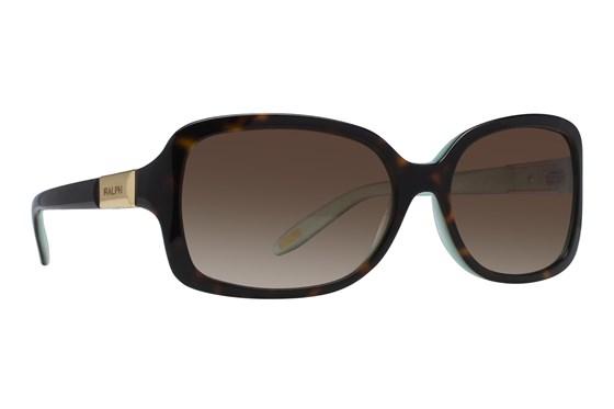 Ralph by Ralph Lauren RA5130 Light Tortoise Turquoise Sunglasses - Brown