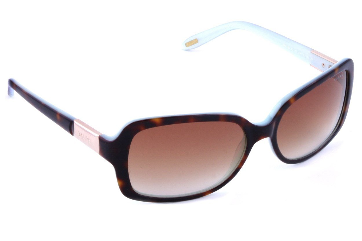 Ralph by Ralph Lauren RA5130 Light Tortoise Turquoise Sunglasses - Brown