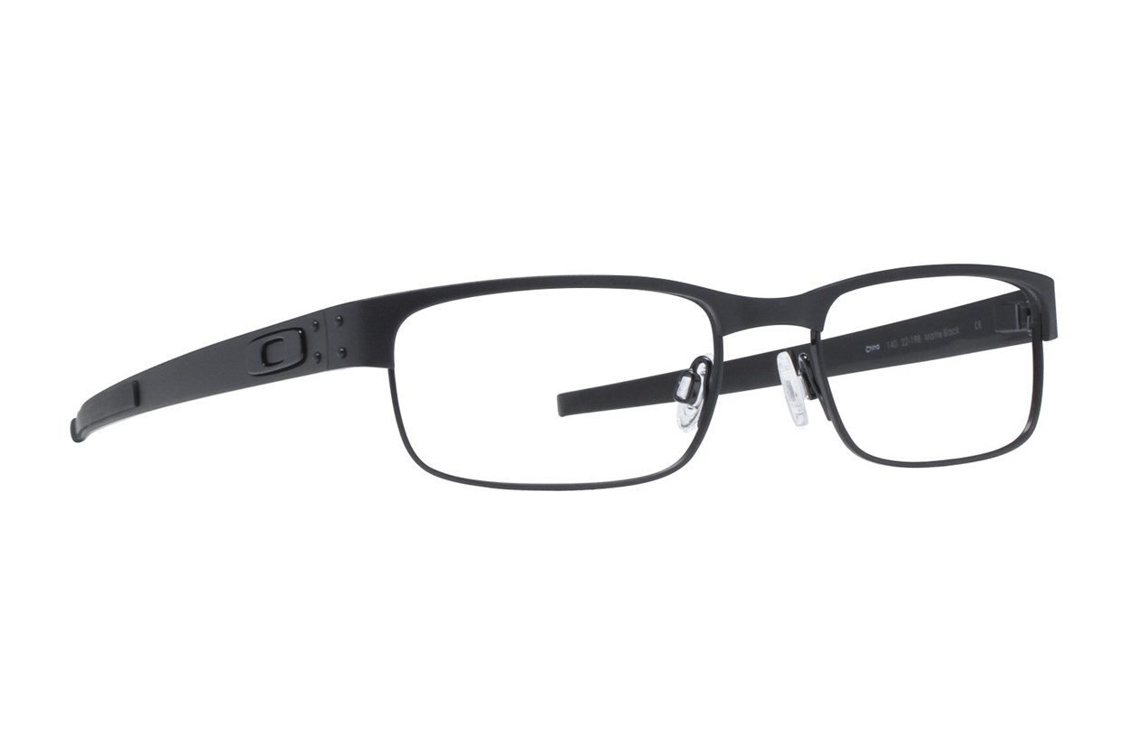 Oakley Metal Plate (53) Eyeglasses - Black