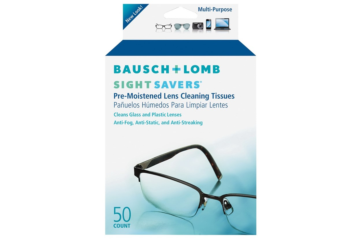 Bausch and Lomb Sight Savers Pre-Moistened Cleansing Tissues (50 Towelettes) 49