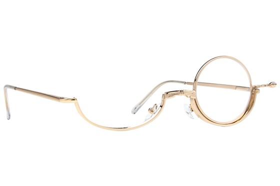 Amcon Metallic Makeup Glasses ReadingGlasses - Gold