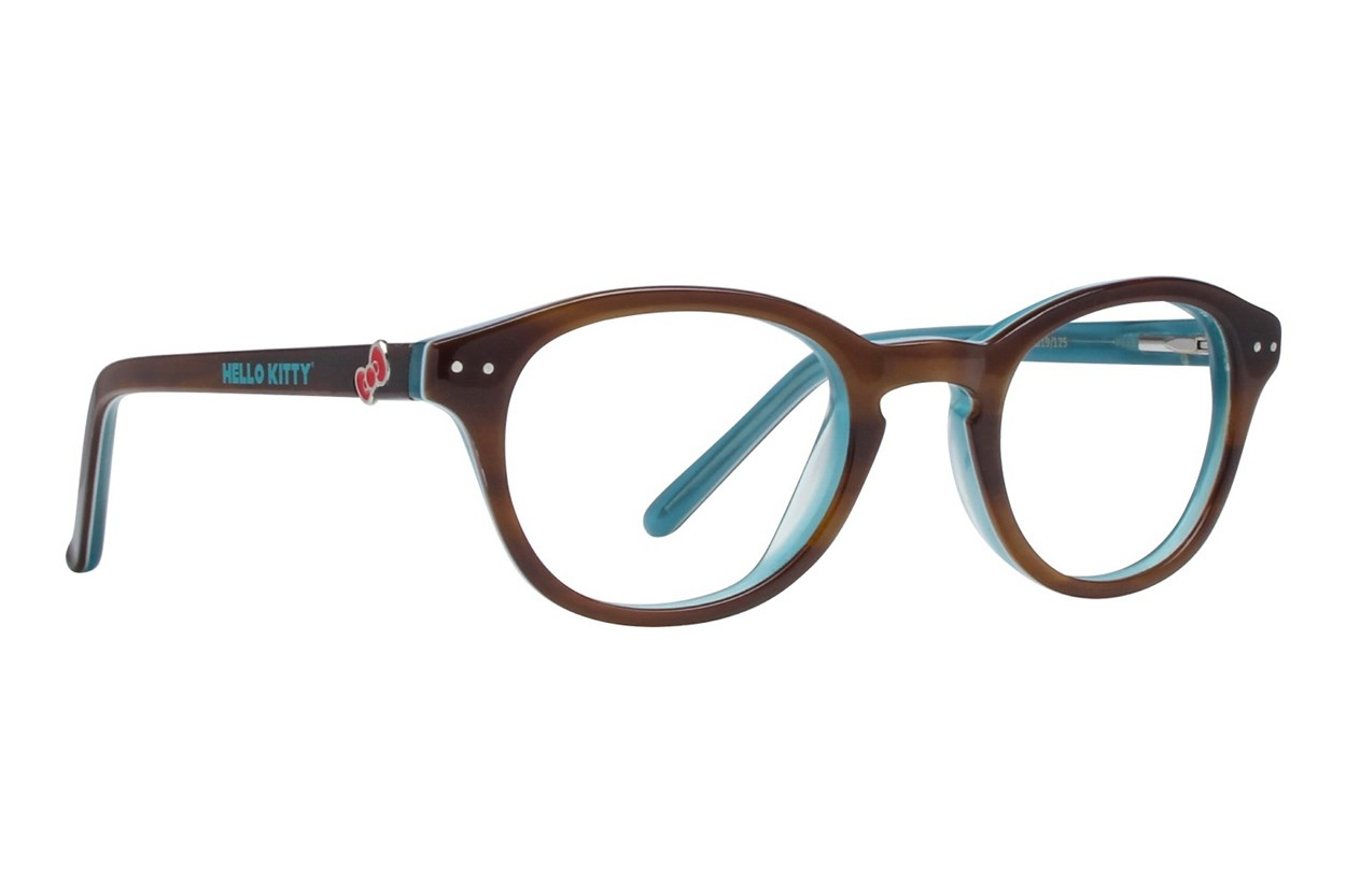 Hello Kitty HK219 Eyeglasses - Brown