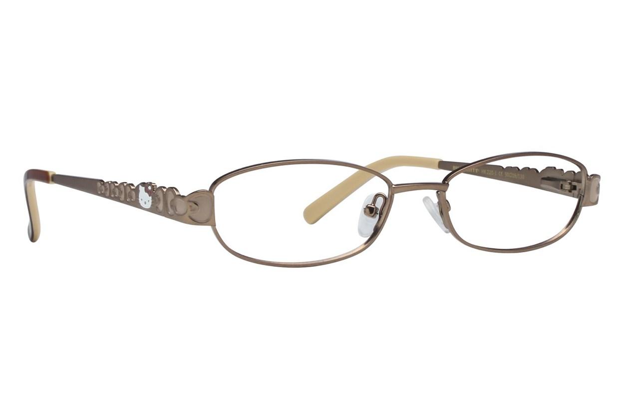 Hello Kitty HK220 Eyeglasses - Brown