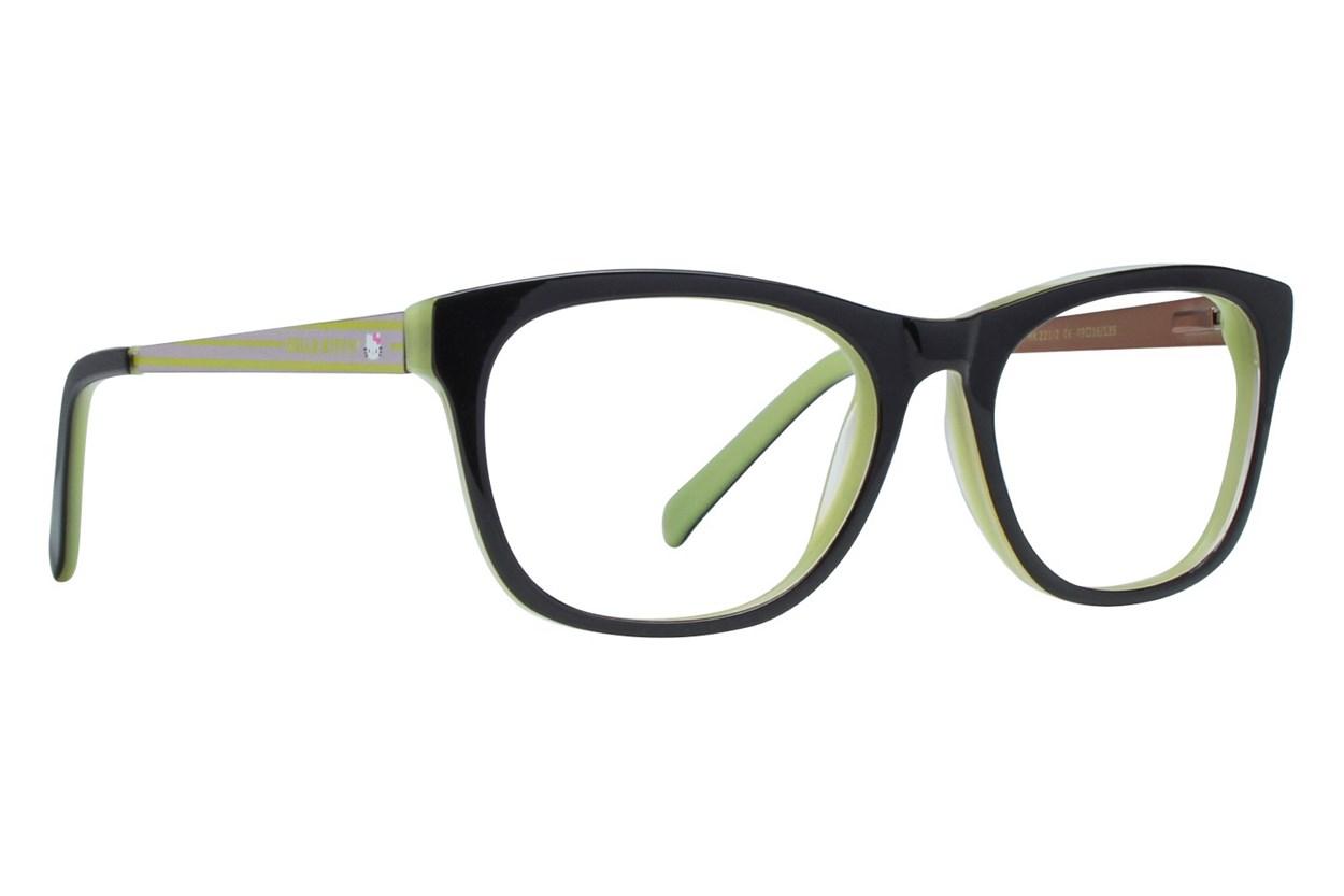 Hello Kitty HK221 Eyeglasses - Black