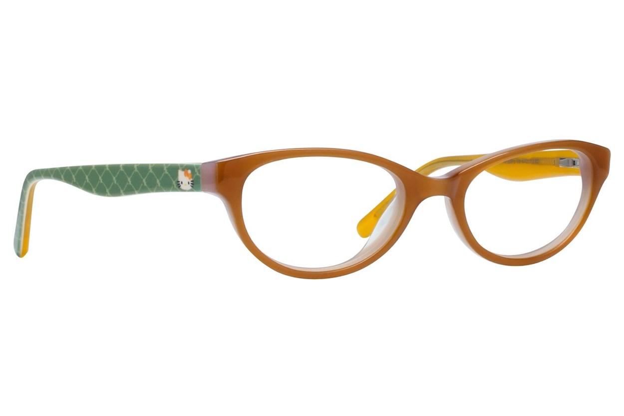 Hello Kitty HK226 Eyeglasses - Gold