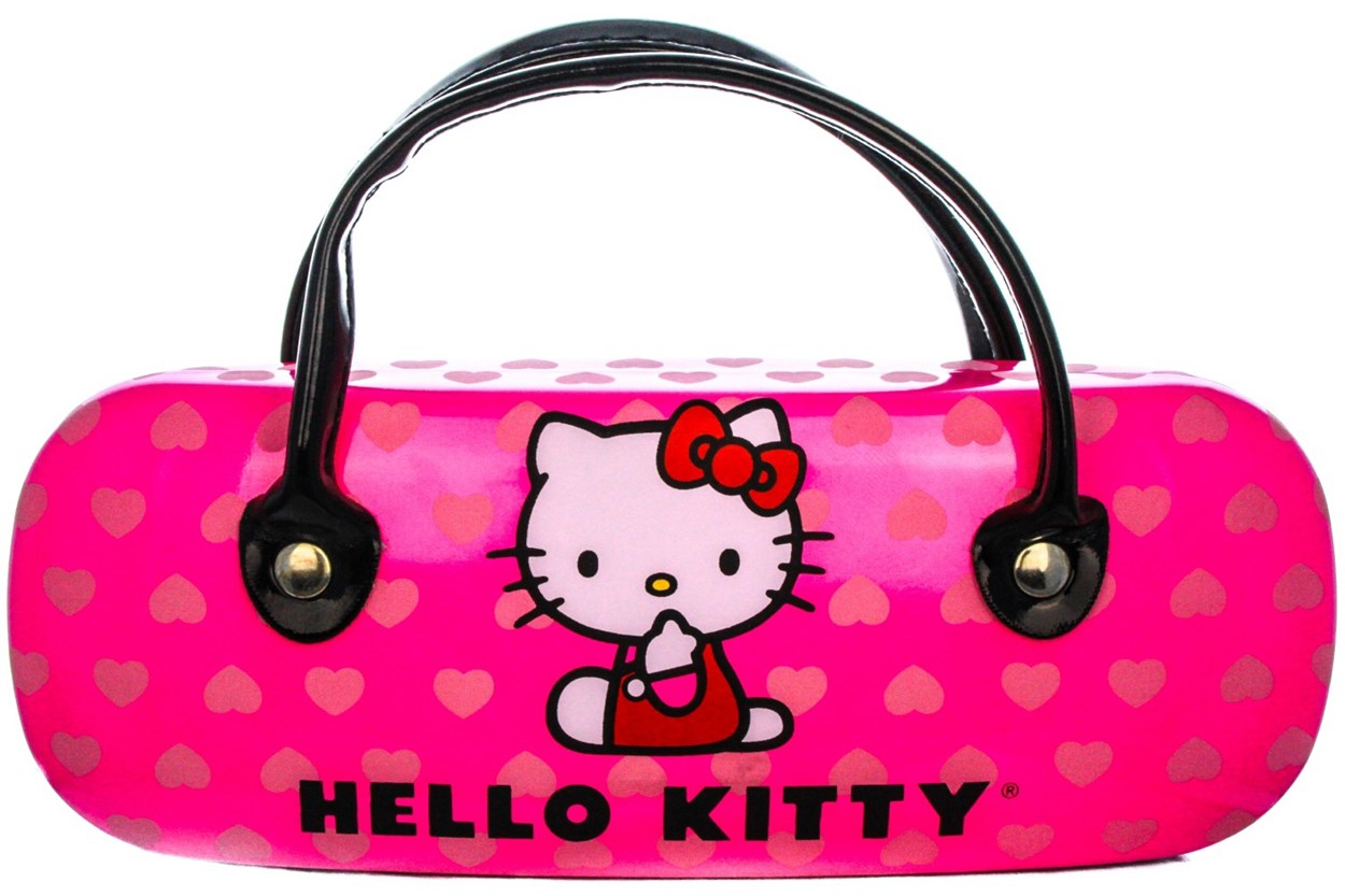 Alternate Image 1 - Hello Kitty HK231 Eyeglasses - Black
