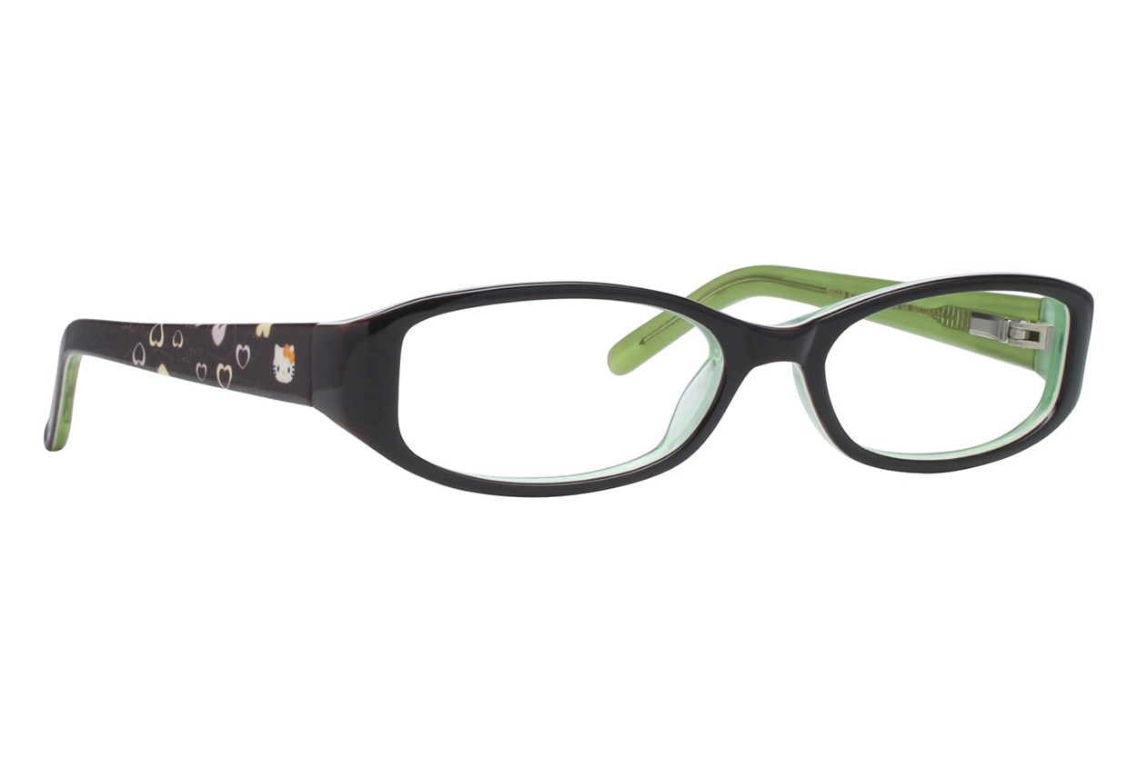 Hello Kitty HK231 Eyeglasses - Black