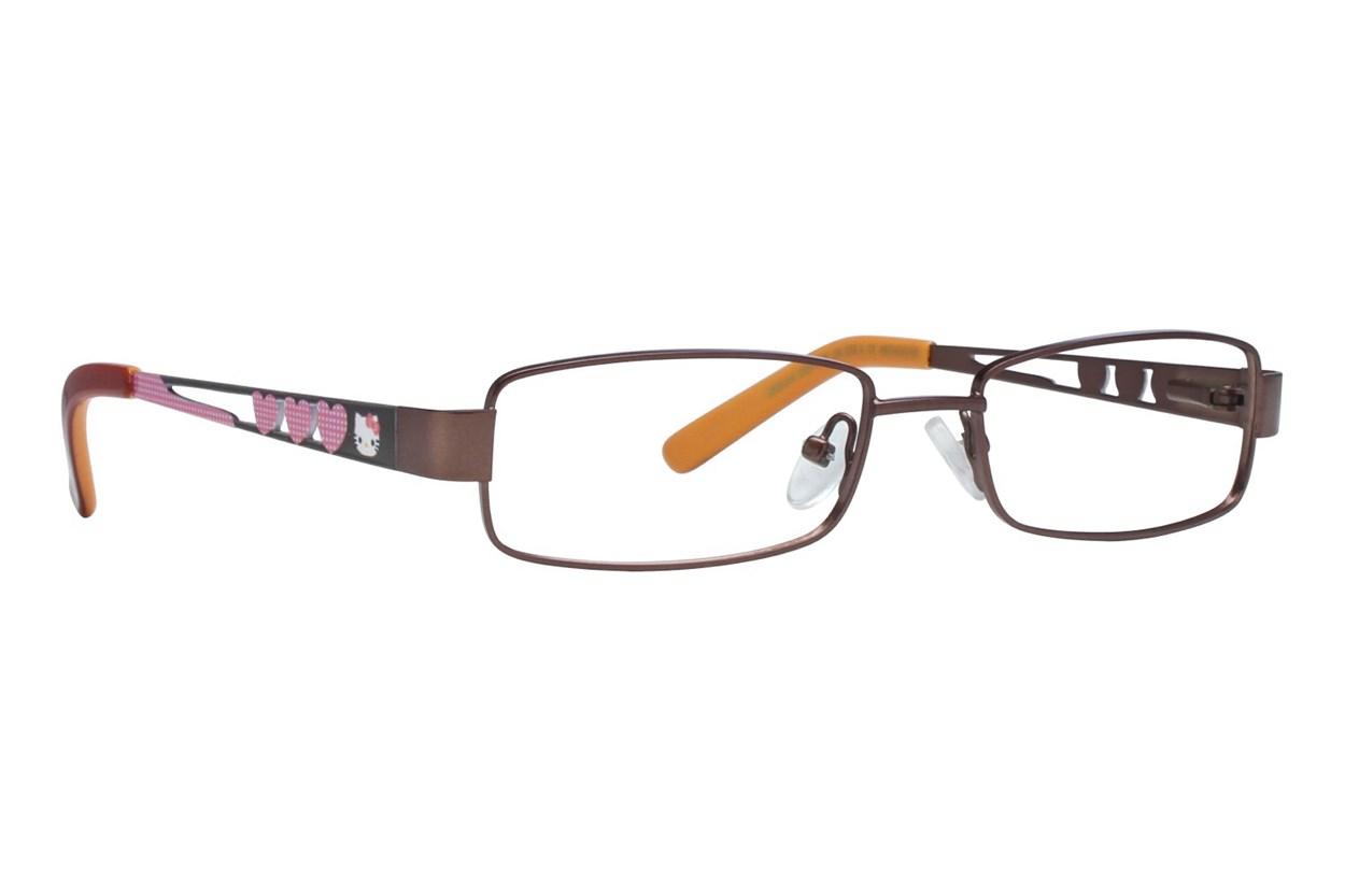 Hello Kitty HK232 Eyeglasses - Brown