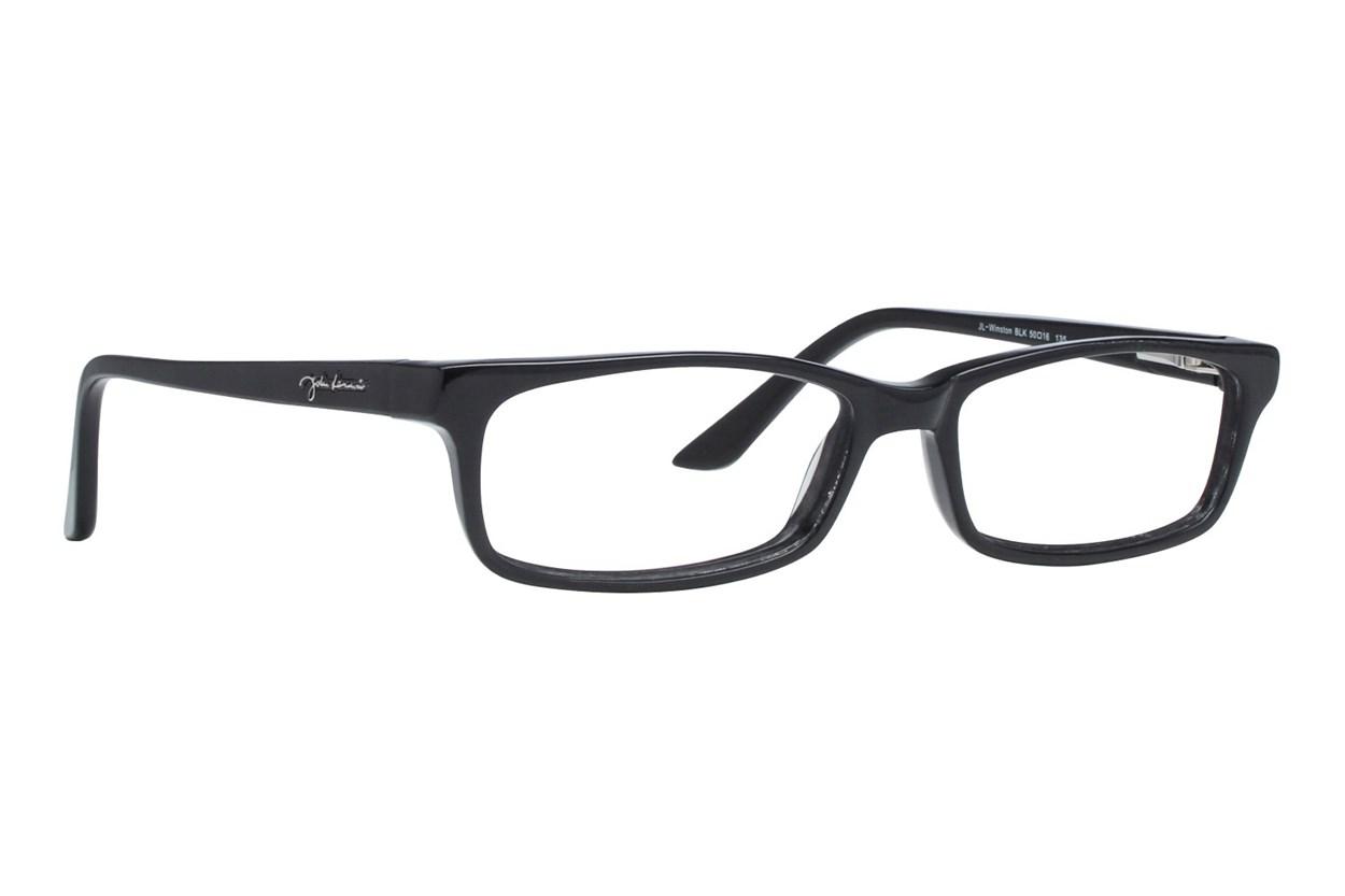 John Lennon Winston Eyeglasses - Black
