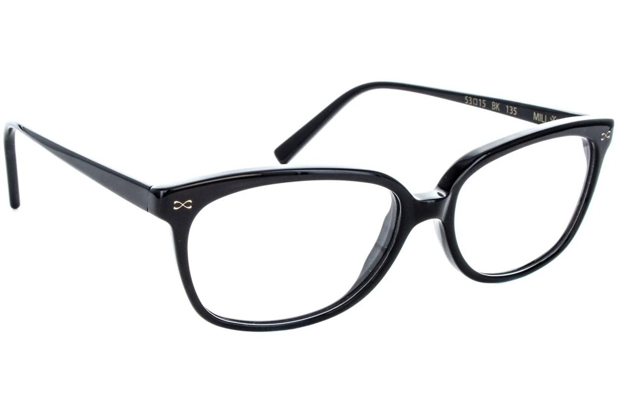 Velvet Eyewear Mili Eyeglasses - Black