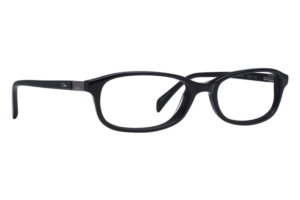 Dea Extended Size Basia Eyeglasses - Black