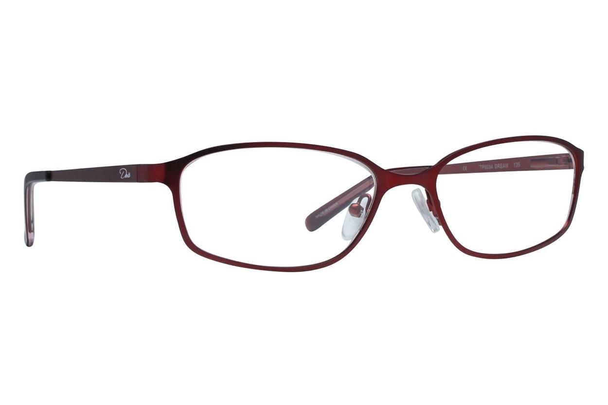 Dea Extended Size Dream Eyeglasses - Brown