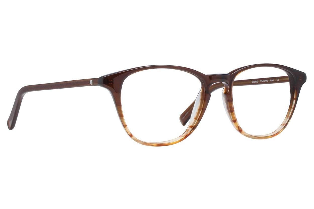 Eco Madrid Eyeglasses - Brown