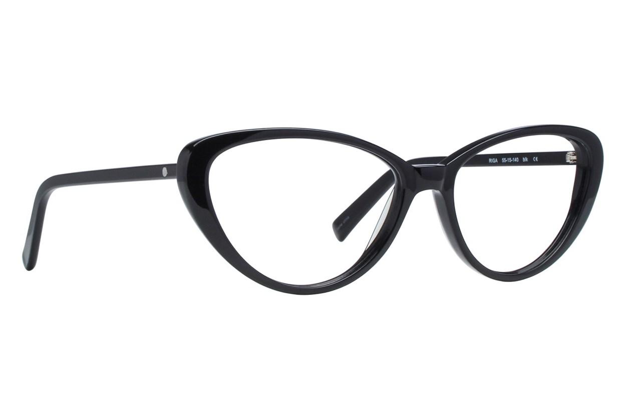 Eco Riga Eyeglasses - Black