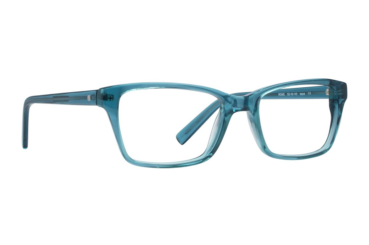 Eco Rome Eyeglasses - Turquoise