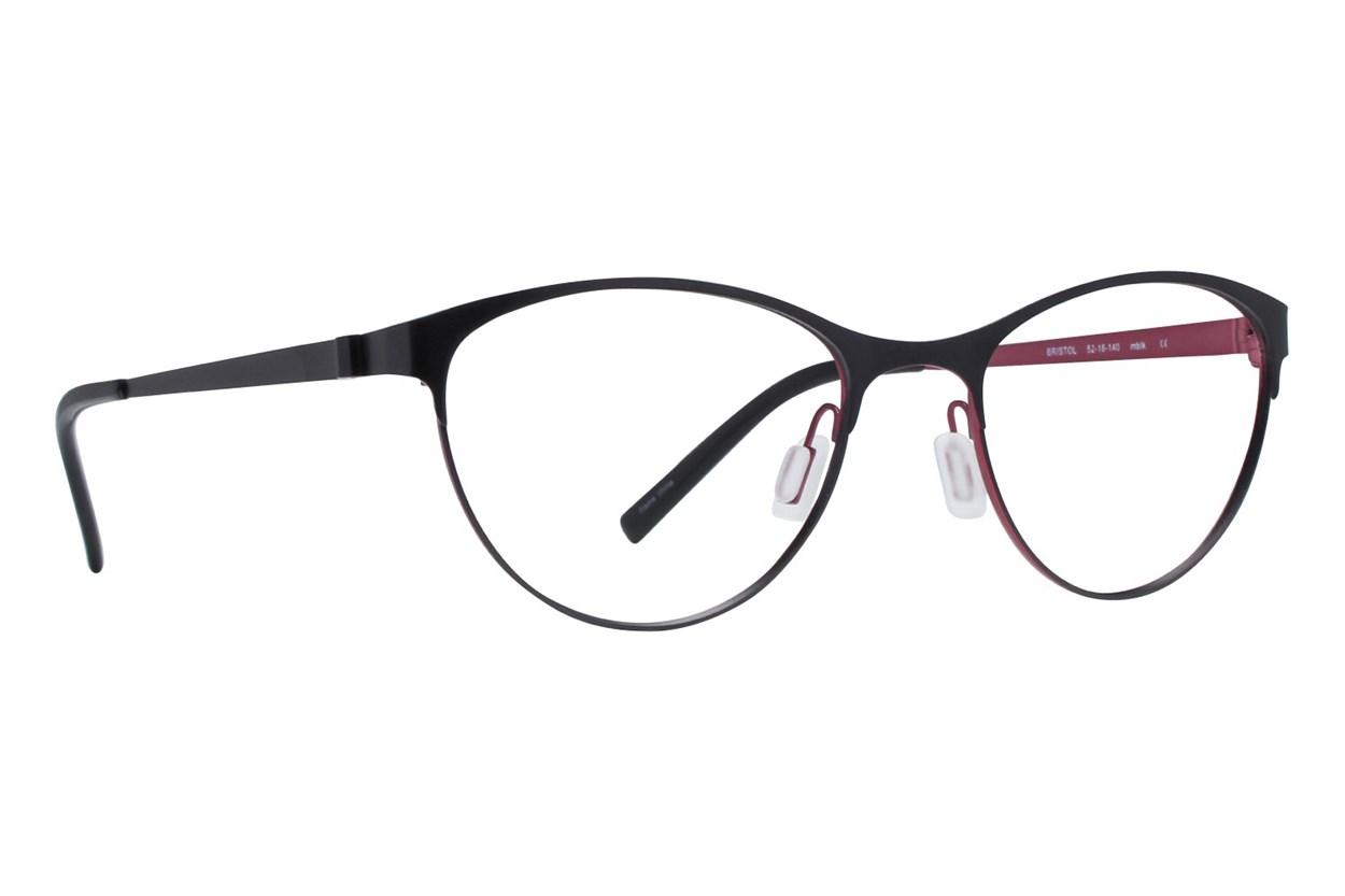 Eco Bristol Eyeglasses - Black