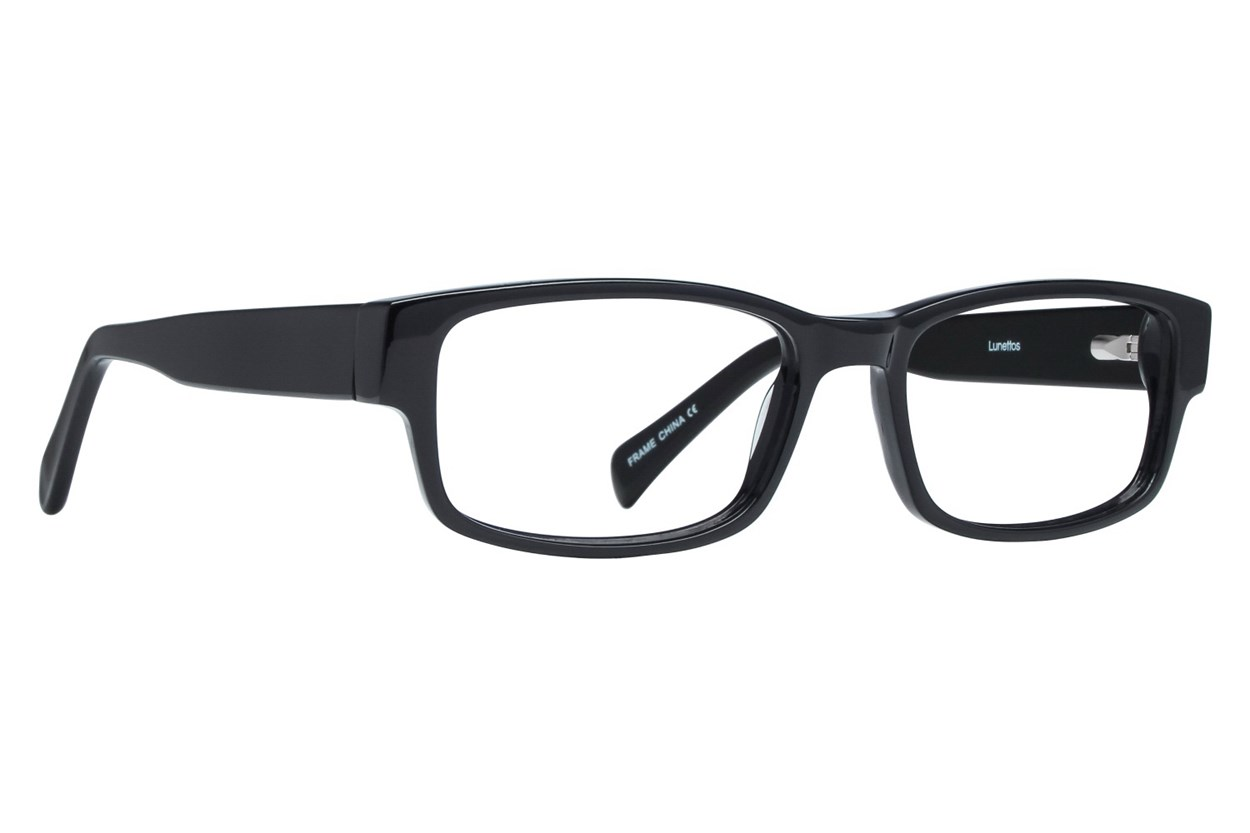 Lunettos Taylor Eyeglasses - Black
