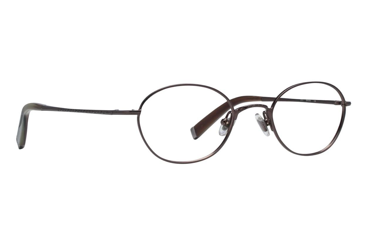 John Varvatos V111 Eyeglasses - Brown