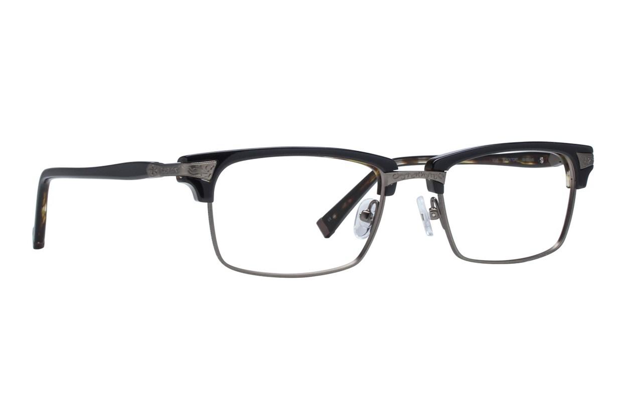 John Varvatos V145 Eyeglasses - Black