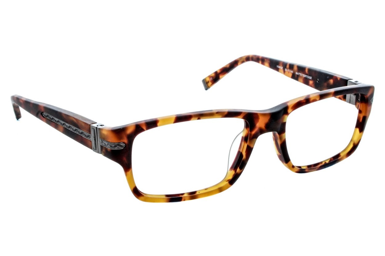 John Varvatos V349 Eyeglasses - Tortoise