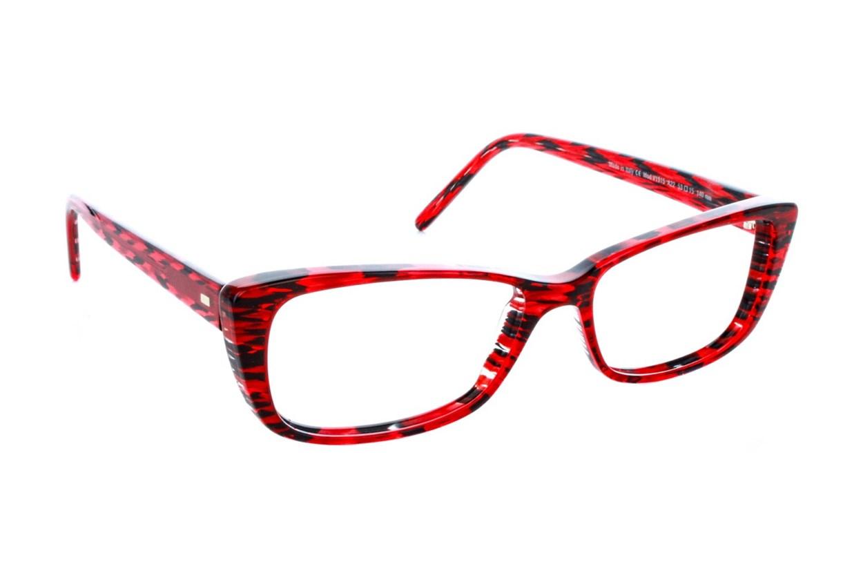 Vanni V1915 Eyeglasses - Red