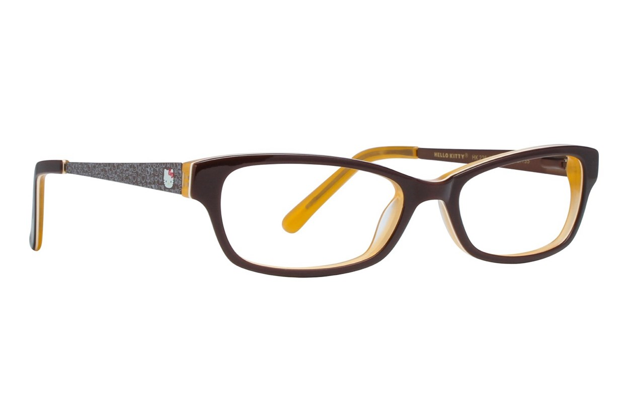 Hello Kitty HK236 Eyeglasses - Brown
