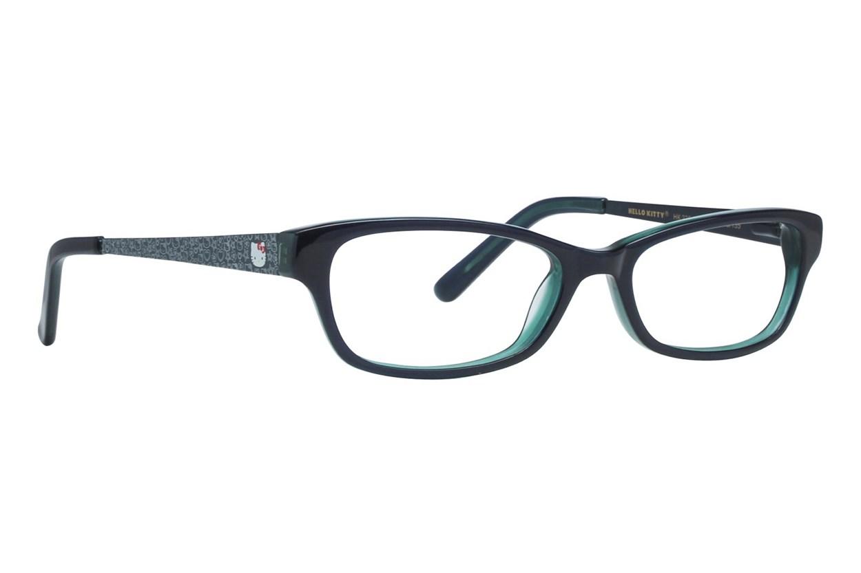 Hello Kitty HK236 Eyeglasses - Black