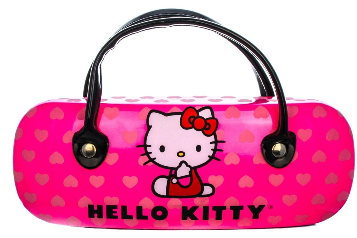 Alternate Image 1 - Hello Kitty HK239 Eyeglasses - Black
