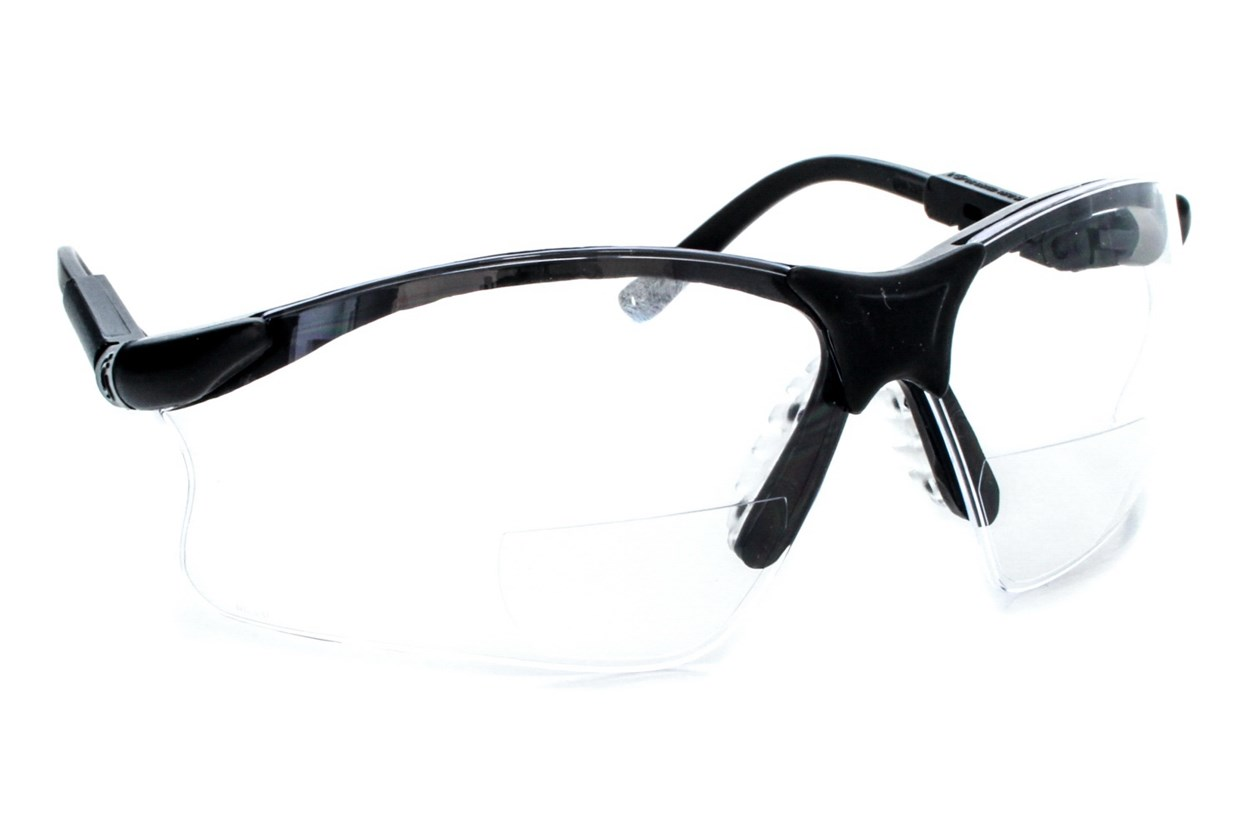 Amcon Scorpion Mag Bifocal Safety Glasses ProtectiveEyewear - Black