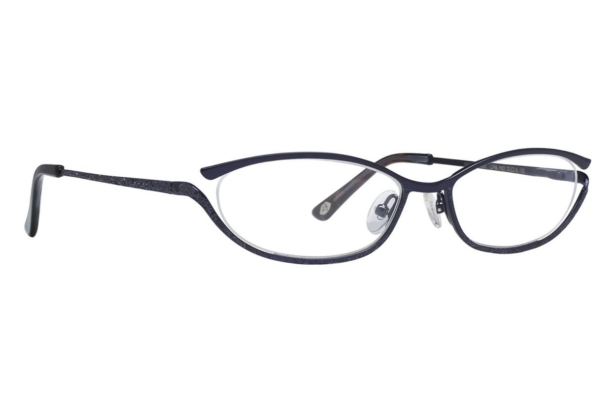 Lulu Guinness L748 Eyeglasses - Blue