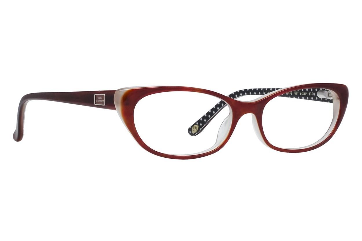 Lulu Guinness L867 Eyeglasses - Tortoise