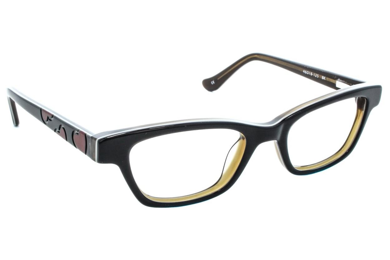 Kensie Girl Dancing Eyeglasses - Black